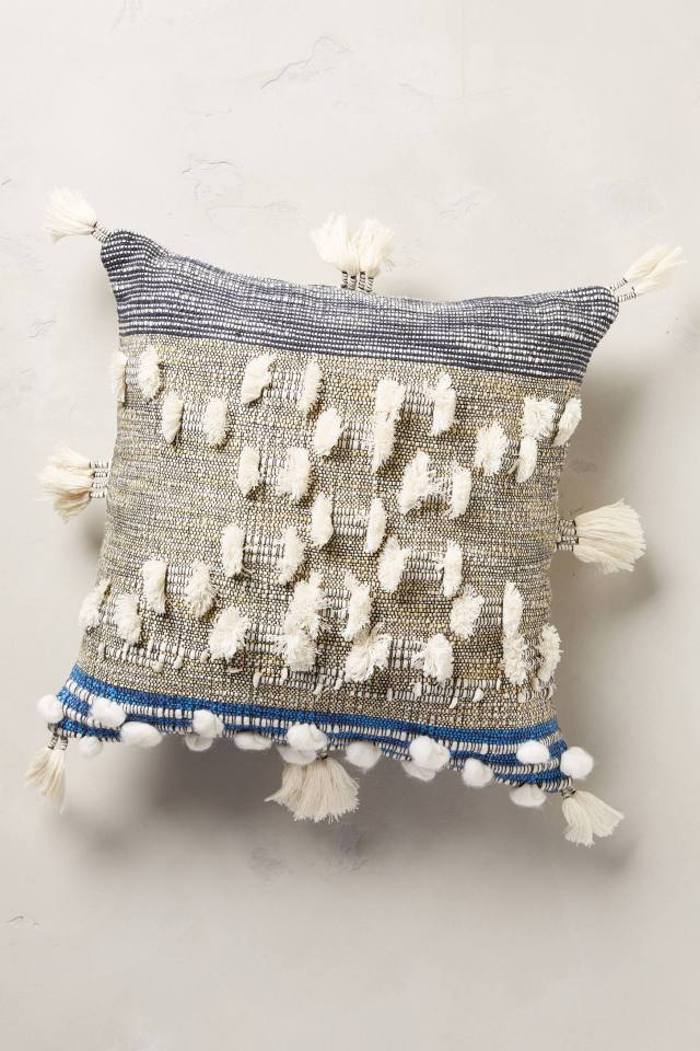 Collaged Majida Pillow by All Roads Design