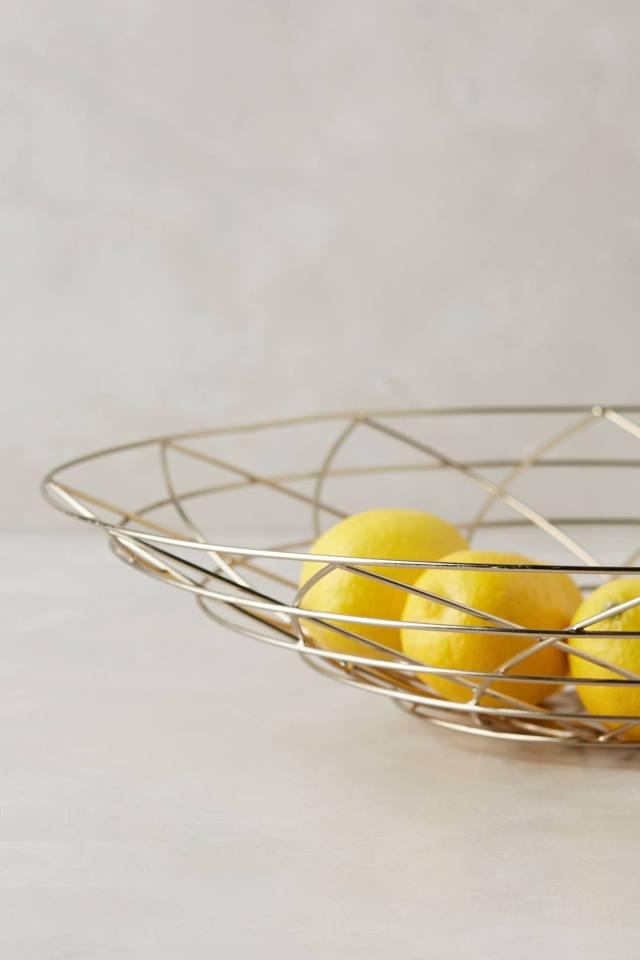 Cradled Wire Basket