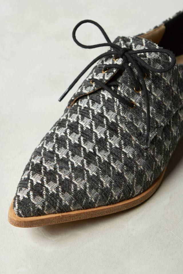 Uoma Houndstooth Oxfords by Day Birger et Mikkelsen