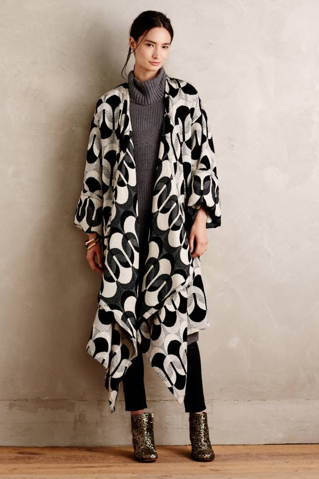 Deveren Blanket Coat by Tracy Reese