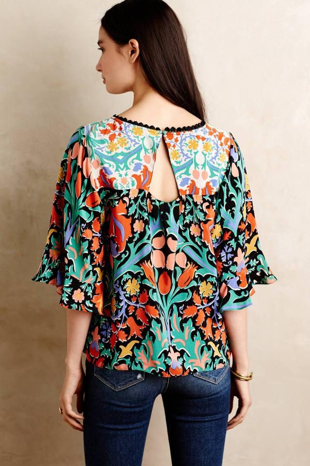 Folkart Kimono Top by Maeve