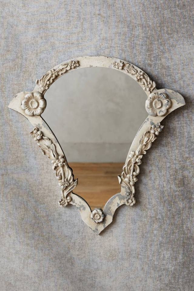 French Fan Mirror