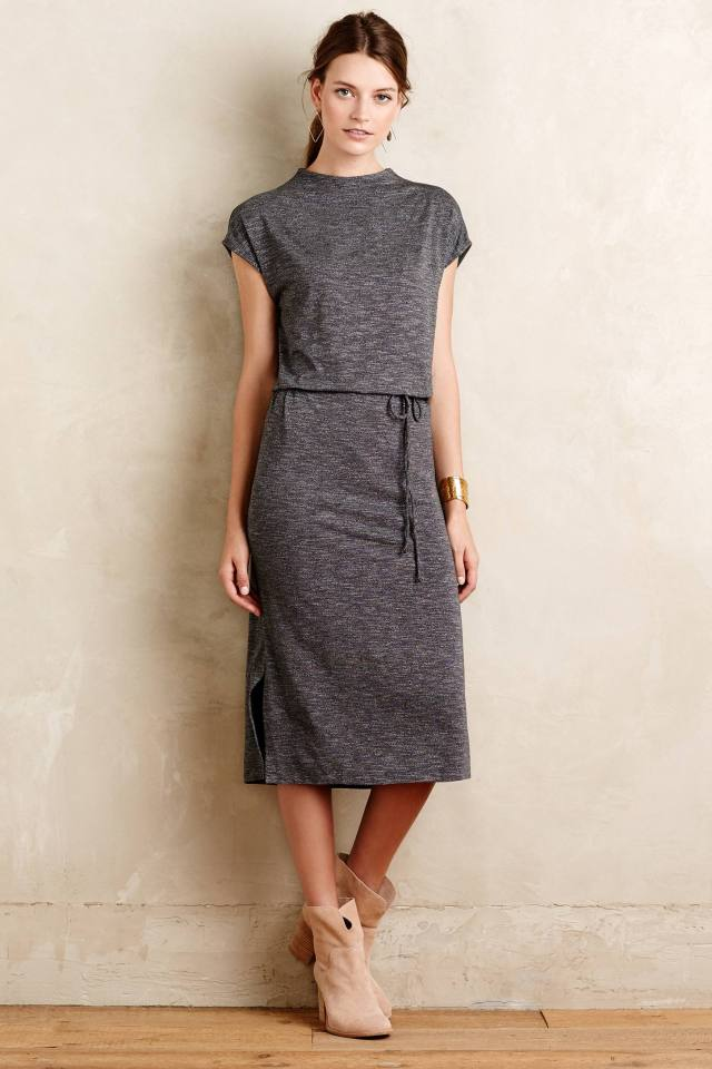 Jersey Midi Dress by Dolan Left Coast