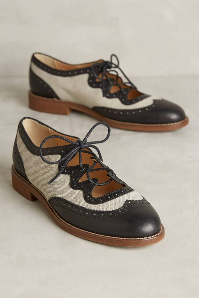 Curricula Cutout Oxfords by Miss Albright