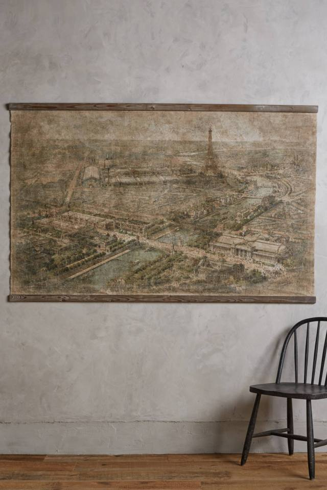 Relic City Map, Paris