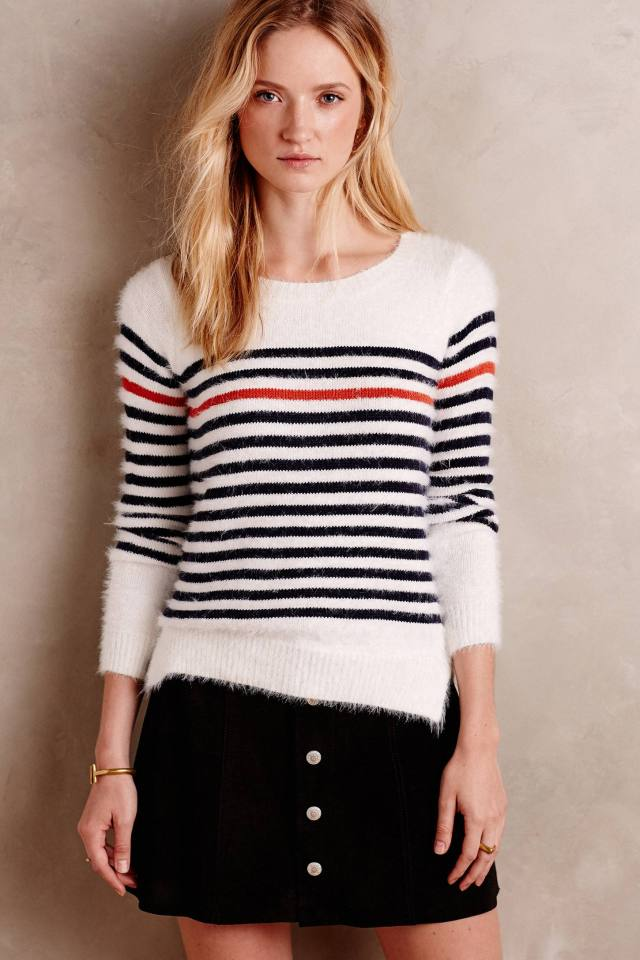 Rouge Stripe Pullover
