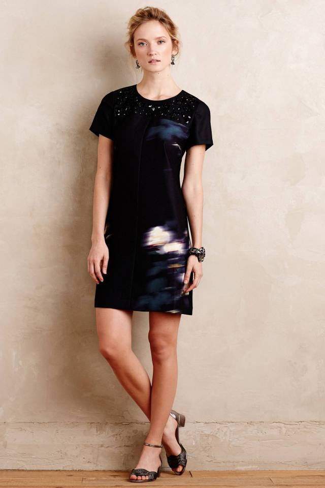 Saba Shift Dress by Peter Som