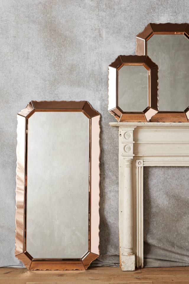 Sculpted Beaumont Mirror