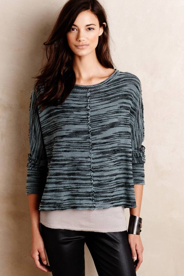 Seamed Terry Pullover by Stateside