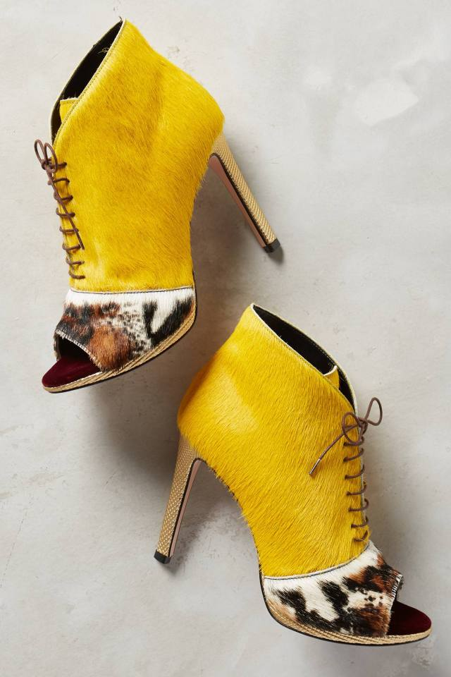 Yellow Python Shooties by Tipe e Tacchi