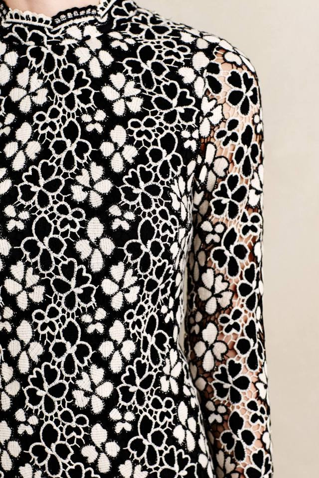 Trilling Daisies Lace Shift by Tracy Reese