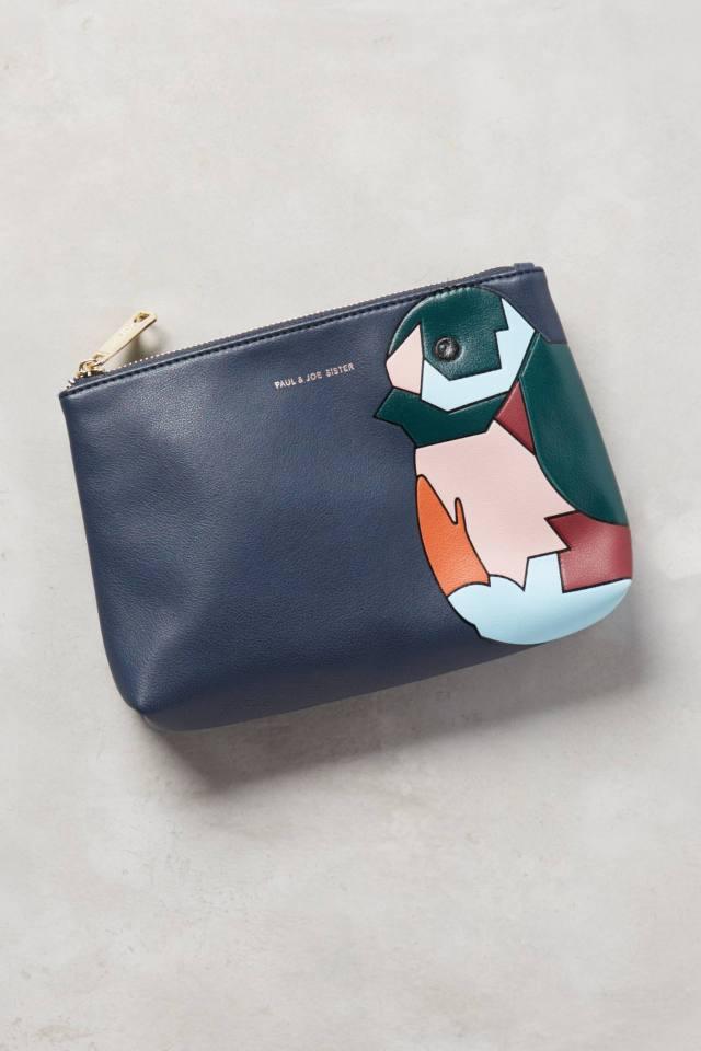 Blocked Bird Cosmetic Bag by Paul & Joe Sister