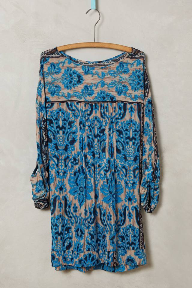 Blue Aster Blouse by Plenty by Tracy Reese