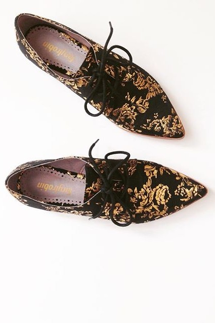 Farylrobin Gilded Rosebloom Oxfords