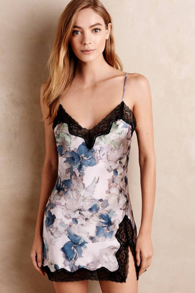 Iris Silk Chemise by Samantha Chang