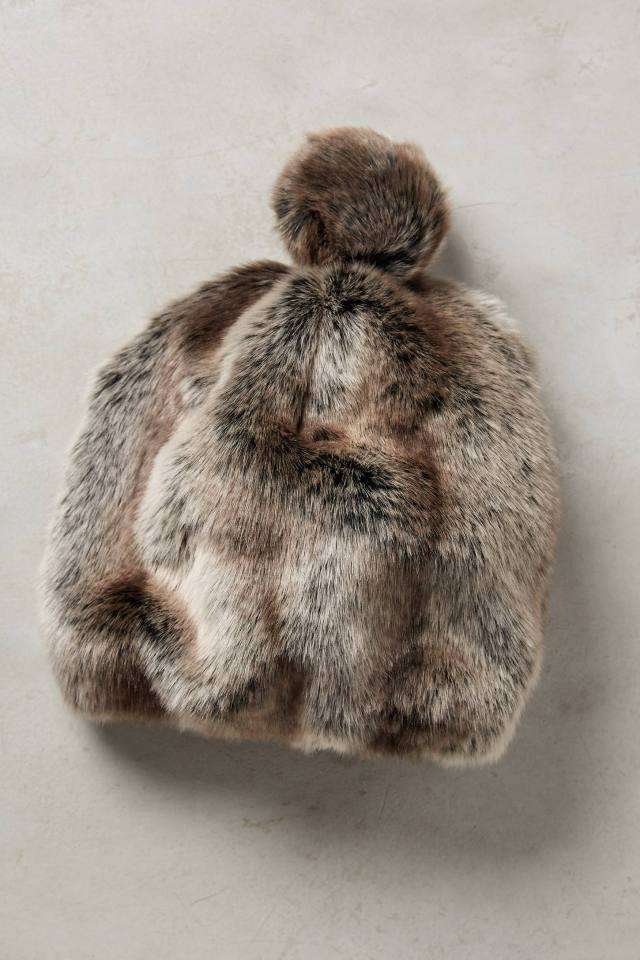Claudine Faux-Fur Hat