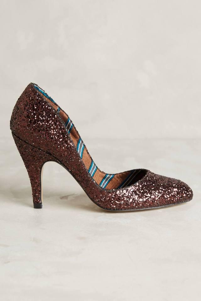Vera Glitter Heels by Lenora Scarpe di Lusso