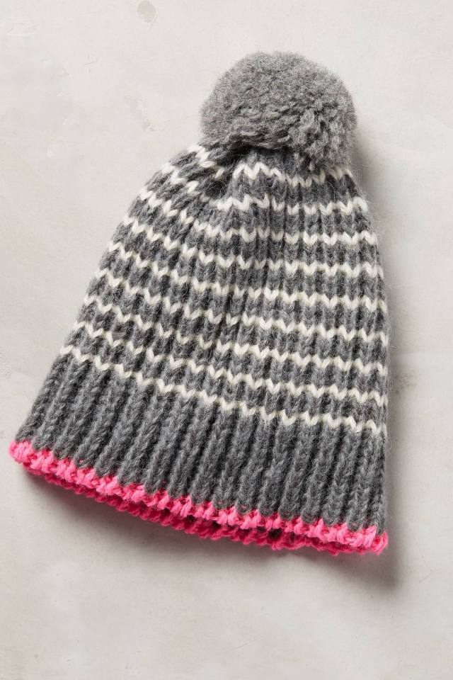 Pink-Bound Beanie by Rose & Rose