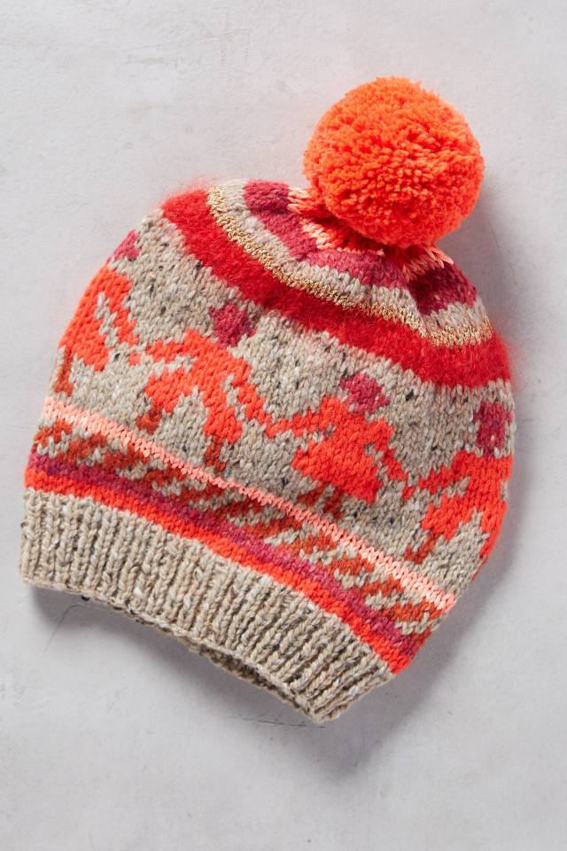 Village Stripe Beanie by Rose & Rose