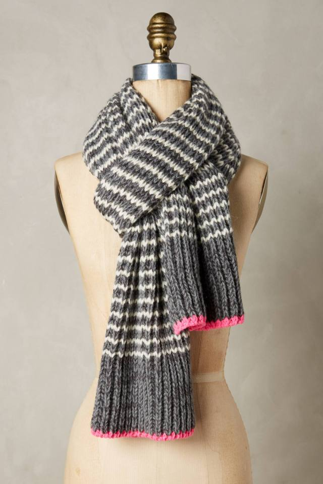 Helsinki Stripe Scarf by Rose & Rose