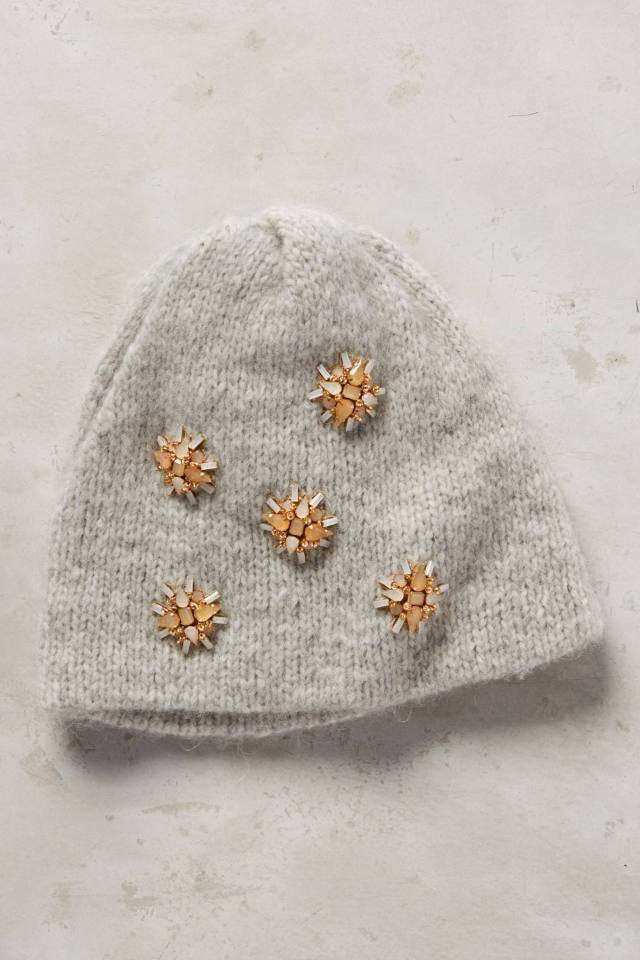 Snowflower Beanie by Jennifer Behr