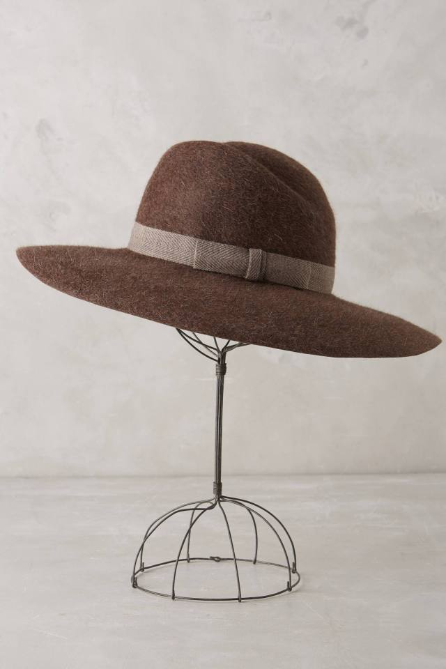 Woodland Floppy Hat by Yestadt Millinery
