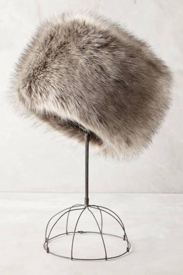 Zosia Faux-Fur Hat by Helen Moore