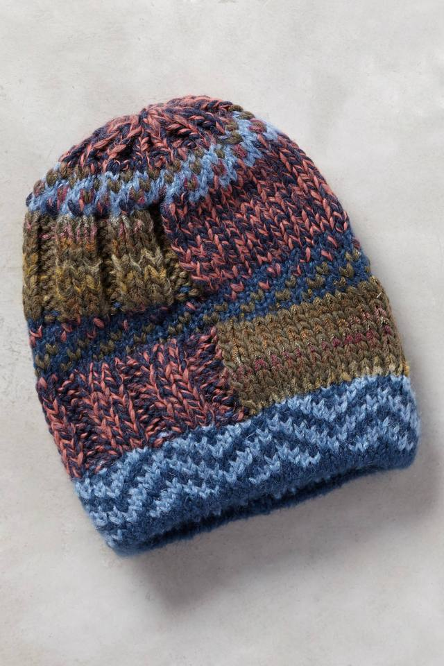 Blockstitch Beanie