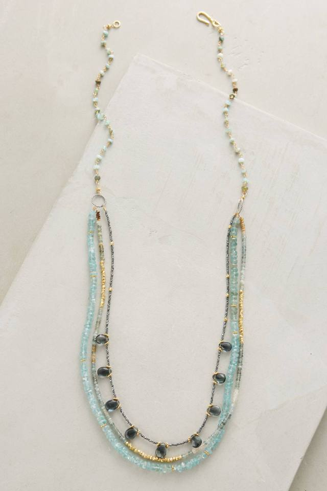 Mazu Layered Necklace by Robindira