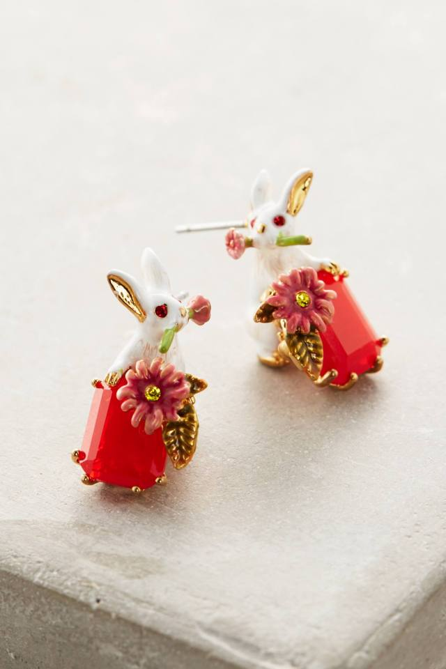 Bonhomie Earrings by Les Nereides