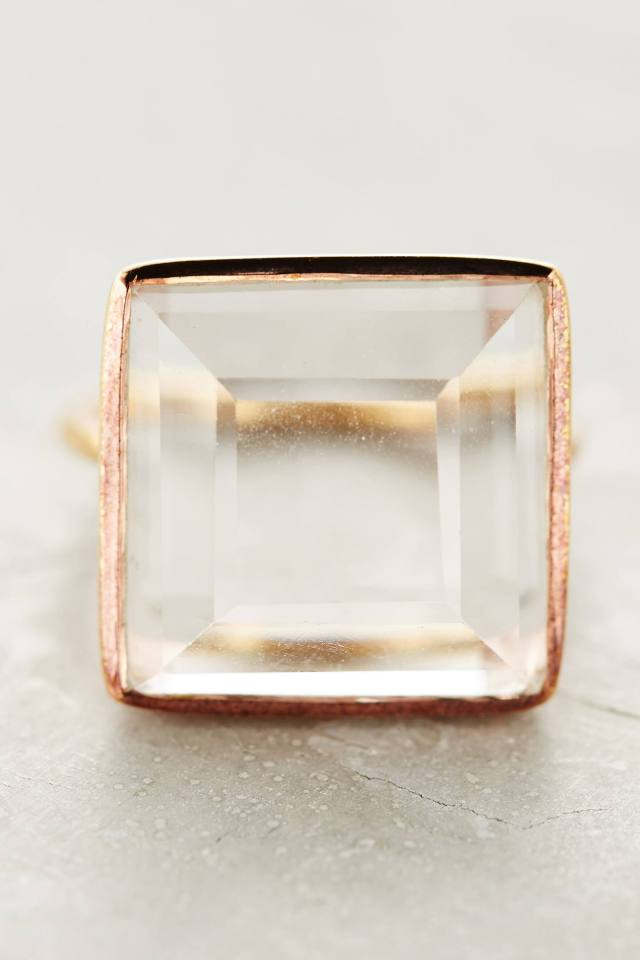 Quartz Match Ring by Lulu