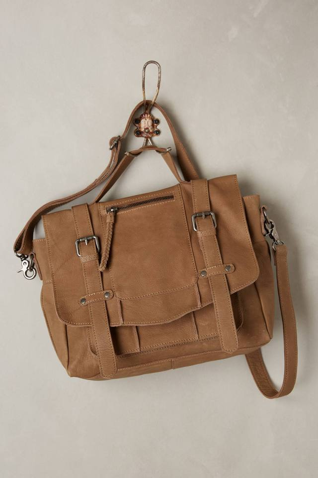 Niko Leather Satchel by CNP