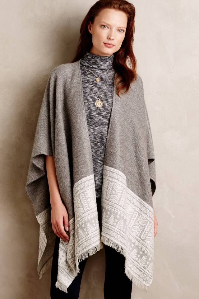 Turtledove Poncho
