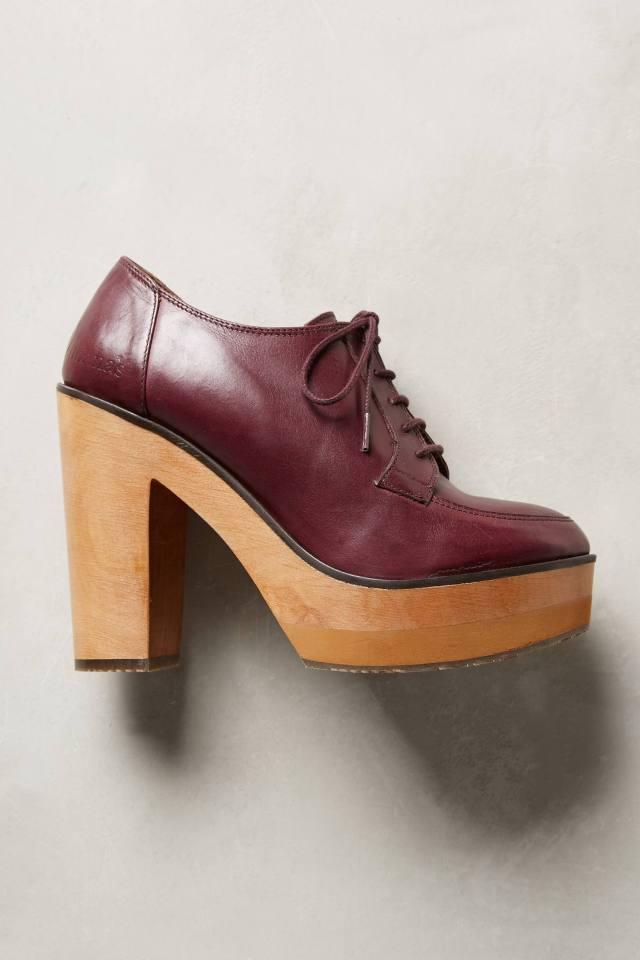 Platform Oxford Heels by Cubanas
