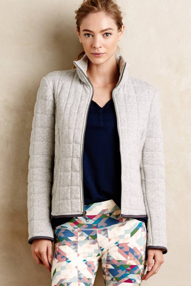 Quilted Drew Jacket by Pure + Good