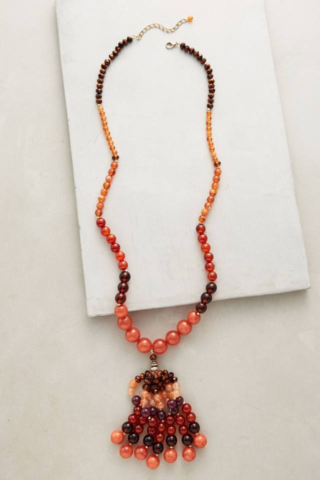 Indra Tassel Necklace