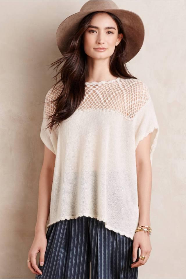 Eulea Crochet Top by Hoss Intropia