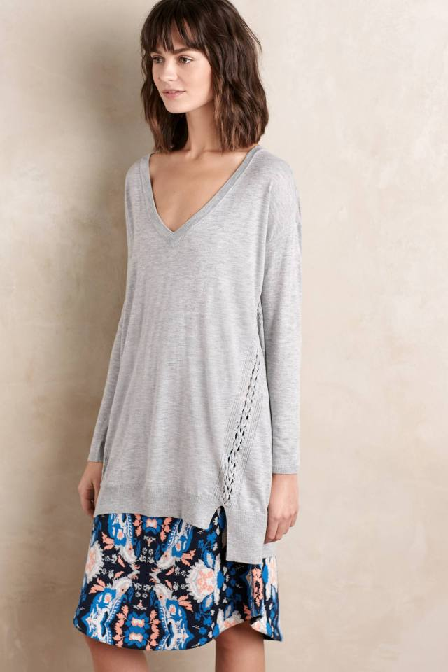 Plaited Pullover by Ella Moss