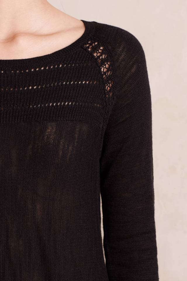 Slubbed Swing Tunic by Knitted & Knotted