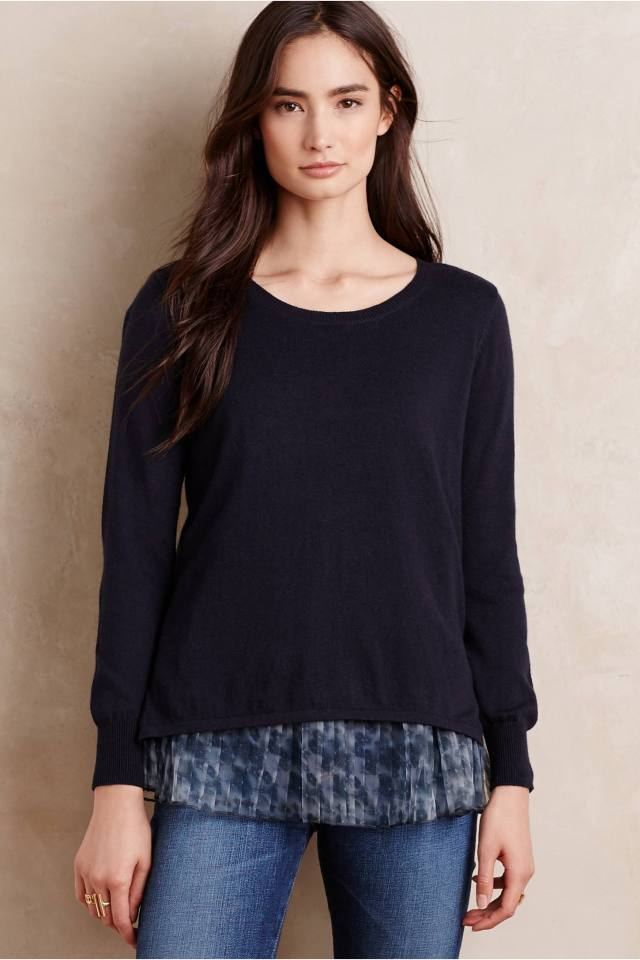 Skirted Saira Pullover by Seen Worn Kept