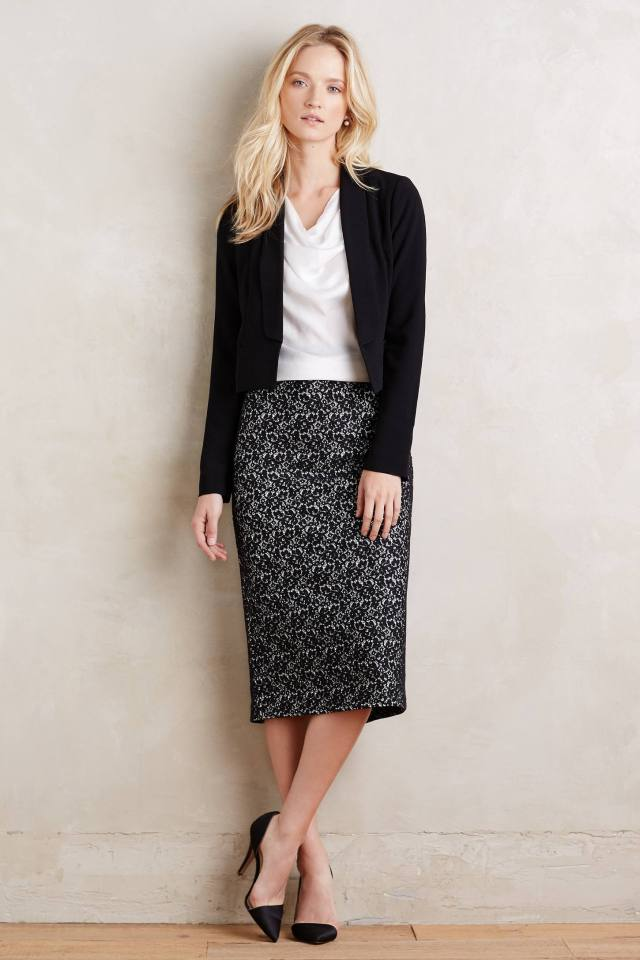 Beatrice Lace Skirt by Erin Fetherston