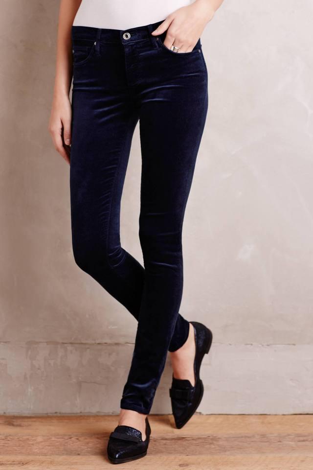Velvet Legging Jeans by AG
