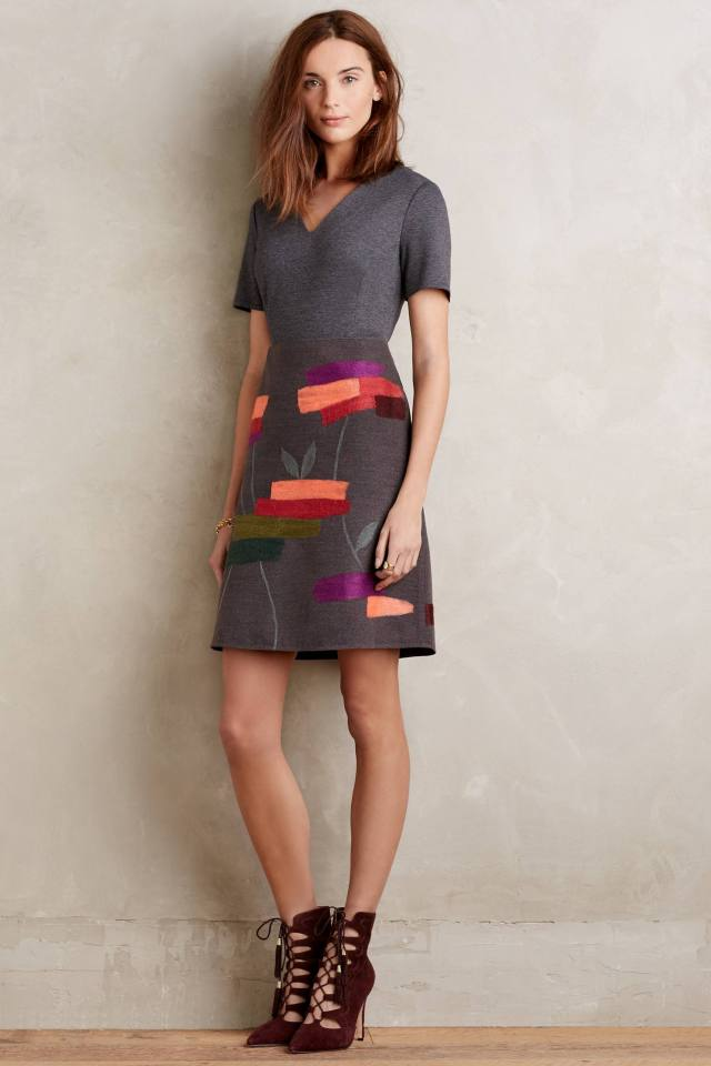 Embroidered Soliloquy Dress by Raoul