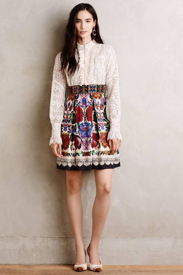 Folklorist Dress by Anna Sui