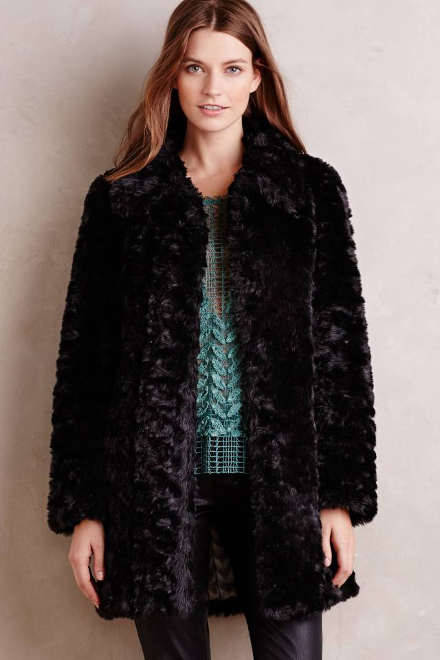 Ballade Faux-Fur Coat