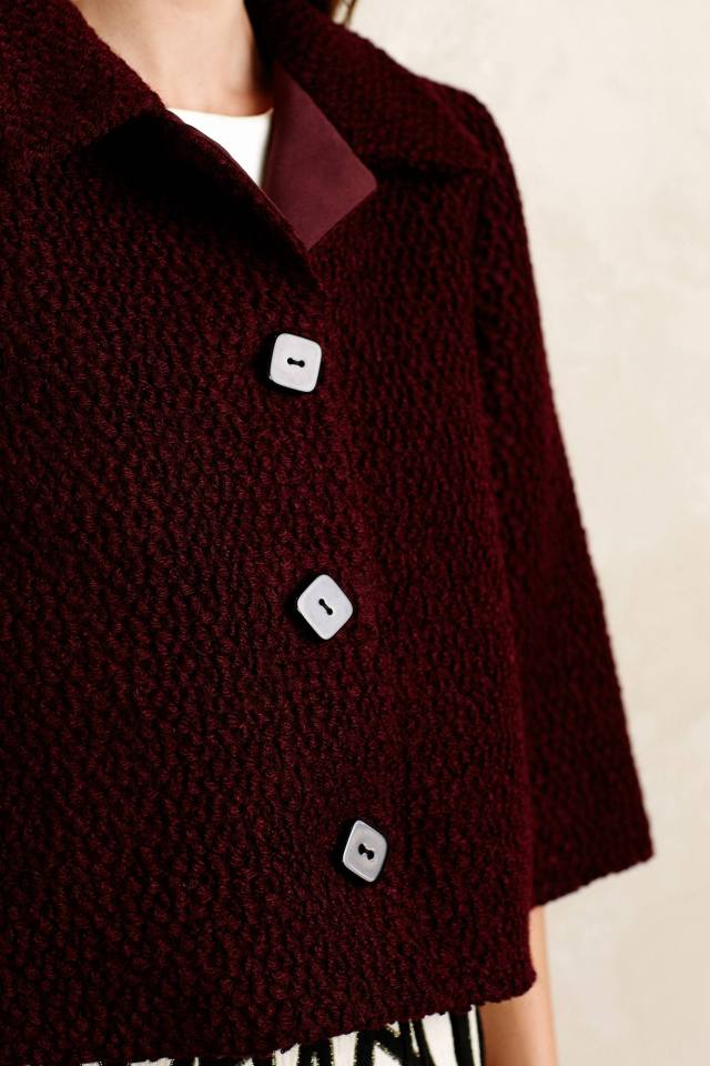 Boucle Swing Jacket by Raoul
