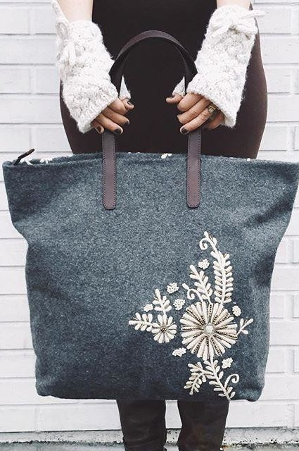 Paris Years Tote by Jasper & Jeera