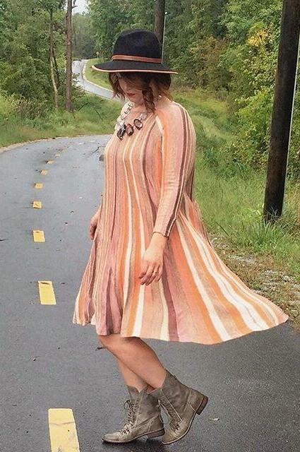 Nora Swing Dress by Moth