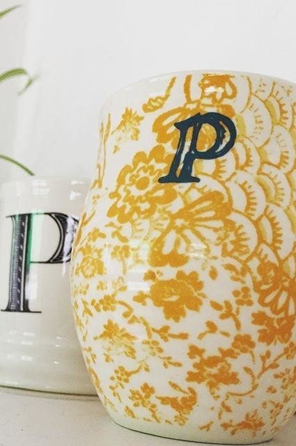 Homegrown Monogram Mug
