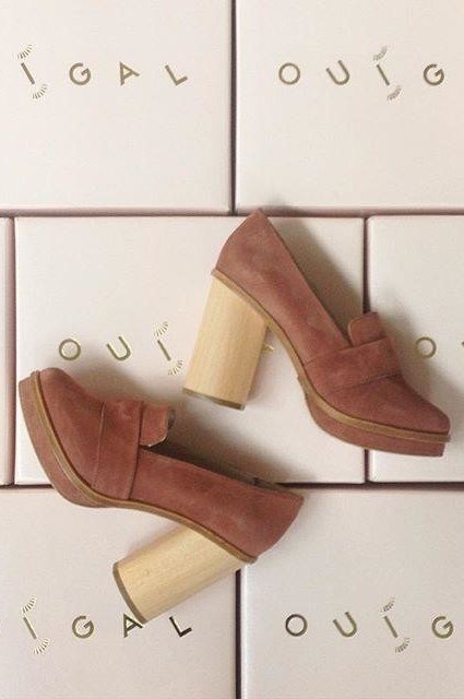 Lou Loafer Heels by Ouigal